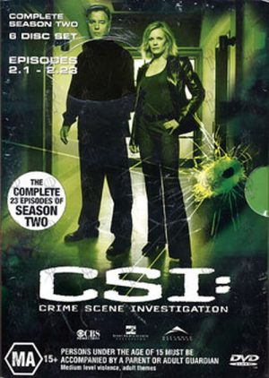 CSI: CRIME SCENE INVESTIGATION - CSI: Season Two - 1