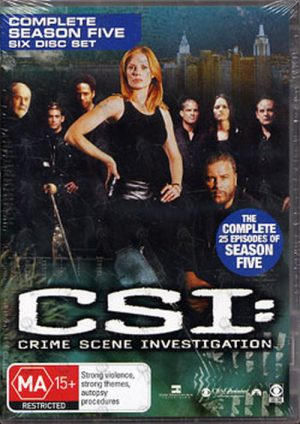 CSI: CRIME SCENE INVESTIGATION - Complete Season Five - 1