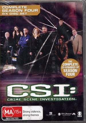 CSI: CRIME SCENE INVESTIGATION - Complete Season Four - 1
