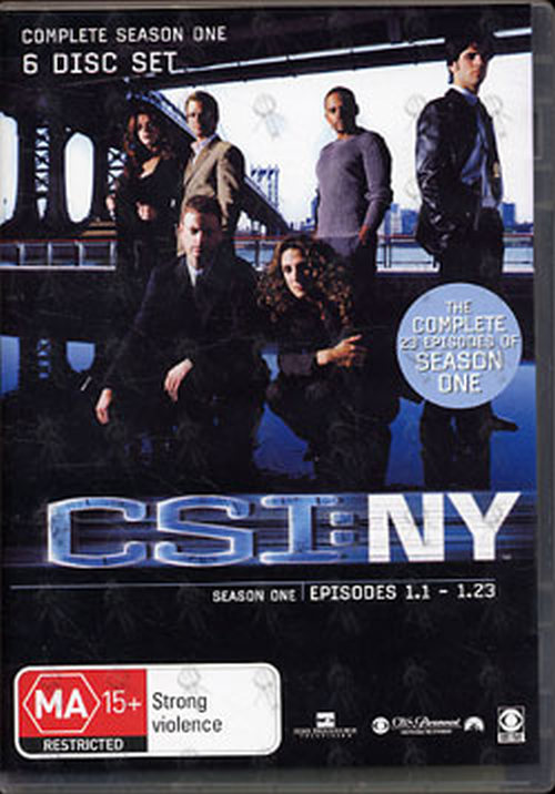 CSI: CRIME SCENE INVESTIGATION - Complete Season One - 1