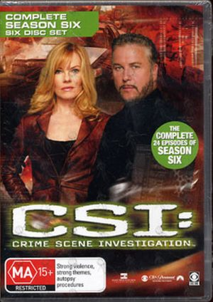 CSI: CRIME SCENE INVESTIGATION - Complete Season Six - 1