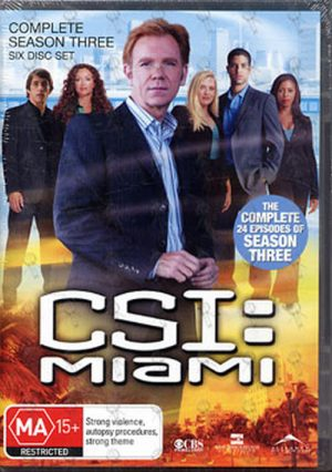 CSI: CRIME SCENE INVESTIGATION - Complete Season Three - 1