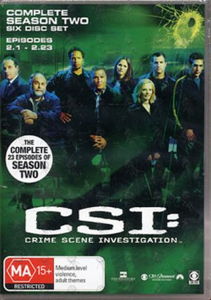 CSI: CRIME SCENE INVESTIGATION - Complete Season Two - 1