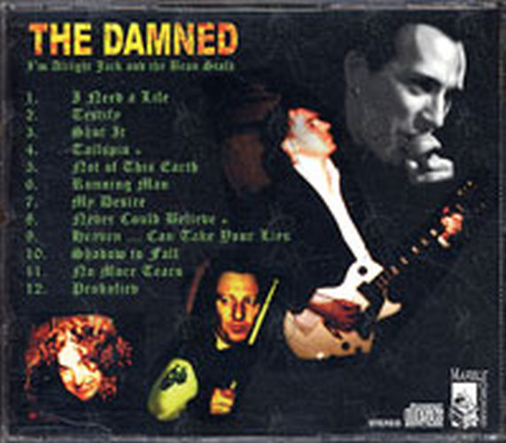 DAMNED-- THE - I'm Alright Jack And The Bean Stalk - 2