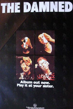 DAMNED-- THE - 'The Damned' Album Promo Poster - 1
