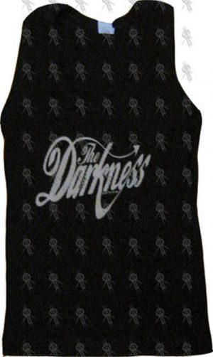 DARKNESS-- THE - Black 'The Darkness' Girls Ribbed Tank Top - 1
