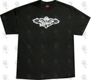 DARKNESS-- THE - Black Wings Design T-Shirt - 1