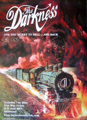 DARKNESS-- THE - 'One Way Ticket To Hell ... And Back' Poster - 1