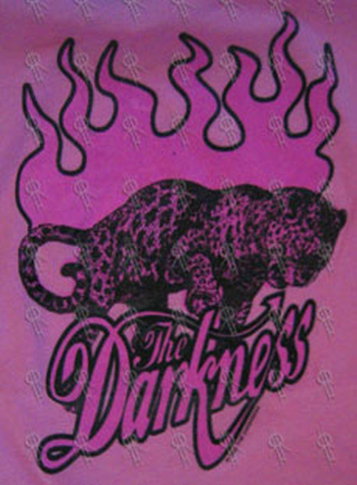 DARKNESS-- THE - Pink Custom Cut Leopard Design Girls Top - 2
