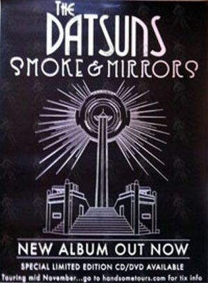 DATSUNS-- THE - 'Smoke And Mirrors' Album Release Poster - 1