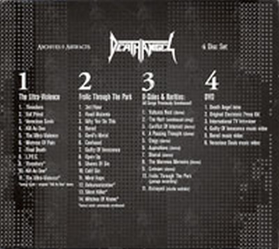 DEATH ANGEL - Archives & Artifacts - 2