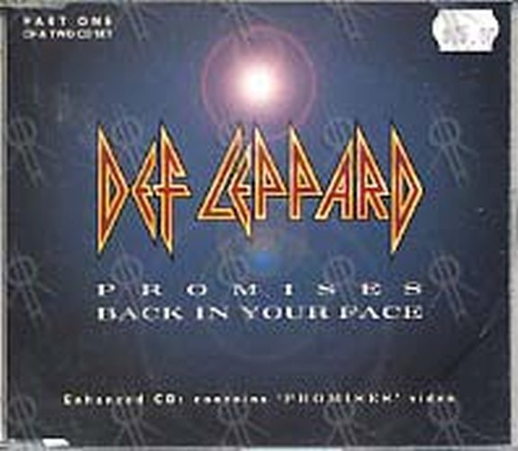 DEF LEPPARD - Promises / Back In your Face (Part 1 Of A 2CD Set) - 1