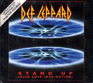DEF LEPPARD - Stand Up (Kick Love Into Motion) - 1