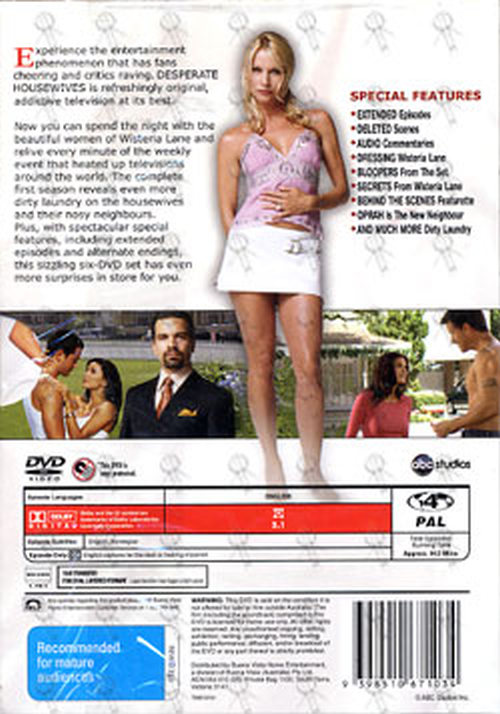 DESPERATE HOUSEWIVES - The Complete First Season - 2