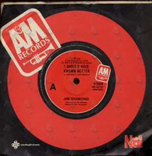 DIAMOND-- JIM - I Should Have Known Better - 1