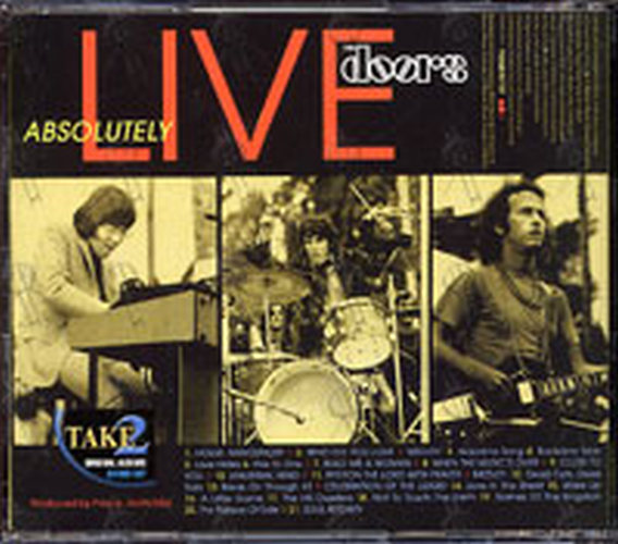 DOORS-- THE - Absolutely Live - 2