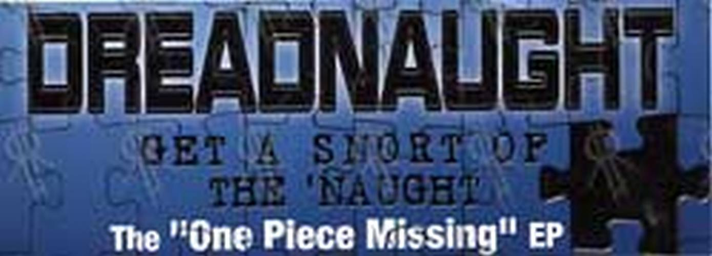 DREADNAUGHT - 'One Piece Missing' EP Sticker - 1