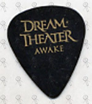 DREAM THEATER - Black And Gold 'Awake' Guitar Pick - 1
