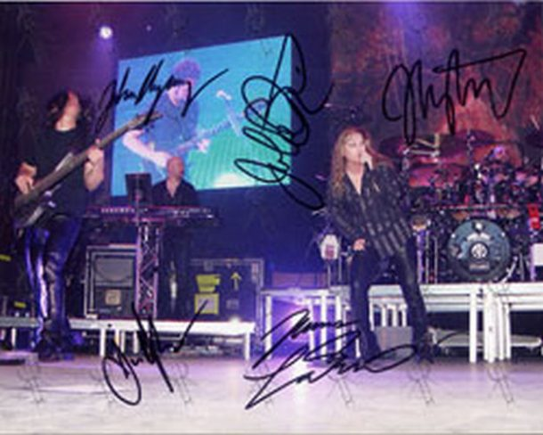 DREAM THEATER - Full Signed  8 x 10 Photograph - 1