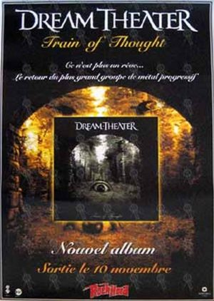 DREAM THEATER - 'Train Of Thought' Poster - 1