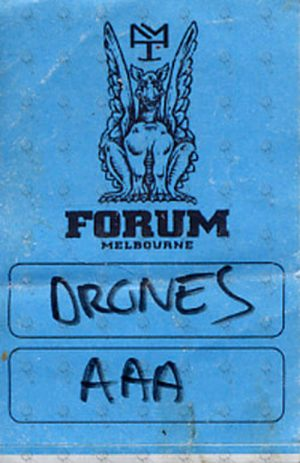 DRONES-- THE - Forum Melbourne 2008 All Access Pass Sticker - 1