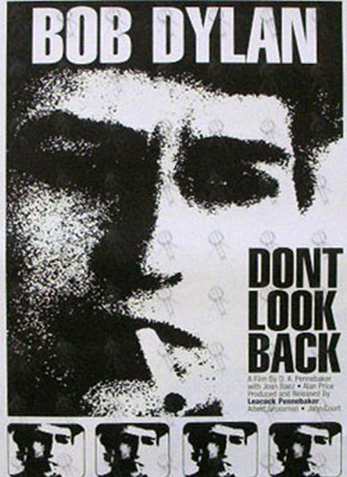 DYLAN, BOB - 'Don't Look Back' Film Poster (Posters, Regular Sizes) | Rare  Records
