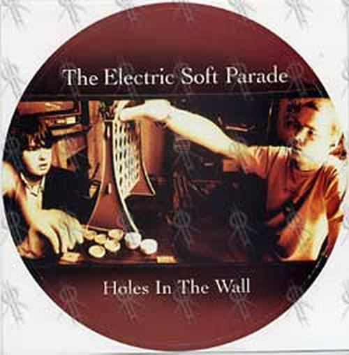 ELECTRIC SOFT PARADE-- THE - 'Holes In The Wall' Album/Oz Tour Sticker - 1