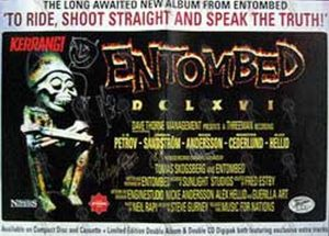 ENTOMBED - 'Kerrang!'/'To Ride