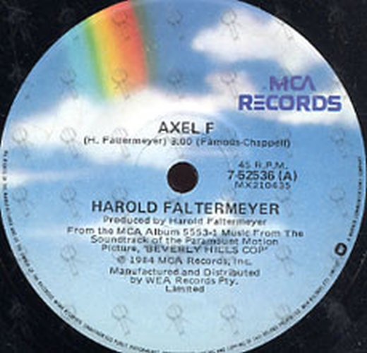 FALTERMEYER-- HAROLD - Axel F (Theme From 'Beverly Hills Cop') - 2