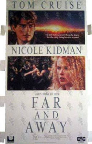FAR AND AWAY - Video Store Promo Display - 1