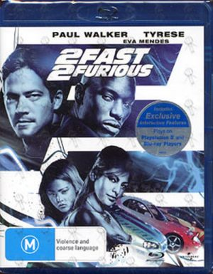 FAST AND THE FURIOUS-- THE - 2 Fast 2 Furious - 1