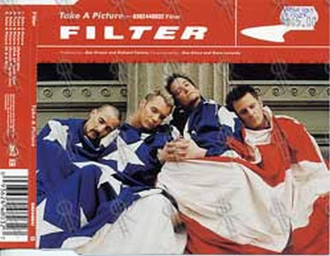 FILTER - 'Take A Picture' CD Single Insert - 1