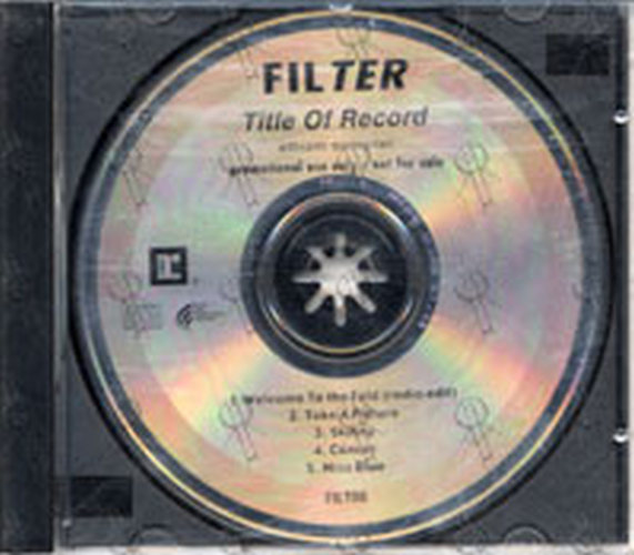 FILTER - Title Of Record - 1