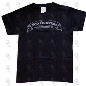 FOO FIGHTERS - Black 'In Your Honor' Design Girls T-Shirt - 1