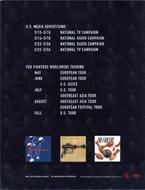 FOO FIGHTERS - The Colour And The Shape Folder - 3