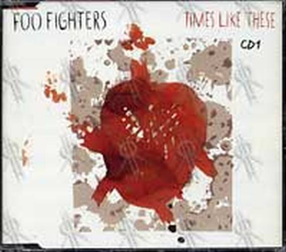 FOO FIGHTERS - Times Like These (CD1) - 1