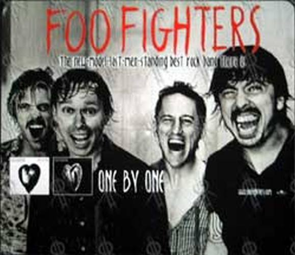FOO FIGHTERS - 'Times Like These' Record Store Dump-Bin Back Stand - 1