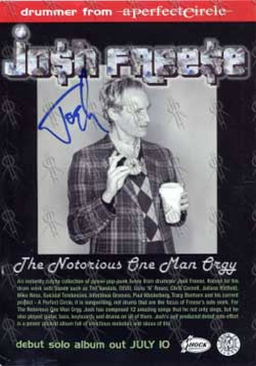 FREESE-- JOSH - 'The Notorious One Man Orgy' Flyer - 1