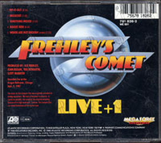 FREHLEY-- ACE - Frehley's Comet: Live + 1 - 2