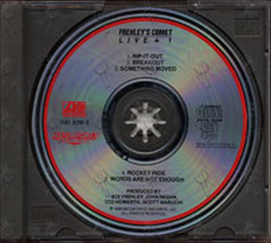 FREHLEY-- ACE - Frehley's Comet: Live + 1 - 3
