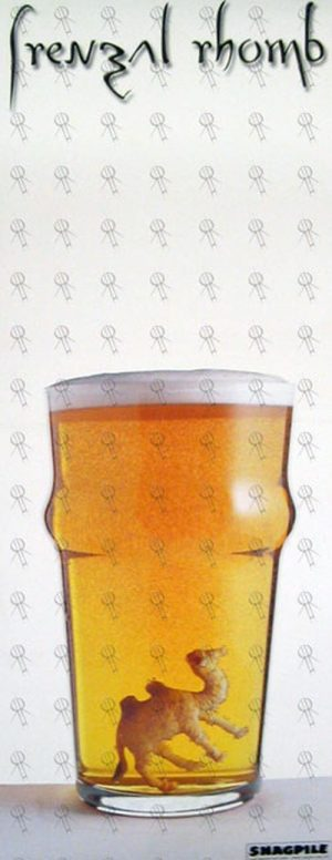 FRENZAL RHOMB - 'A Man's Not A Camel' Beer Image Poster - 1