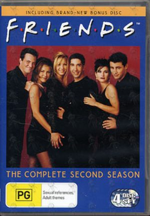 FRIENDS - The Complete Second Season - 1