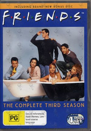 FRIENDS - The Complete Third Season - 1