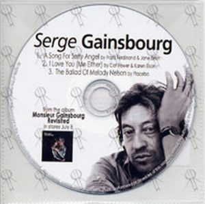 GAINSBOURG-- SERGE - 'Monsieur Gainsbourg Revisited' Sampler - 1