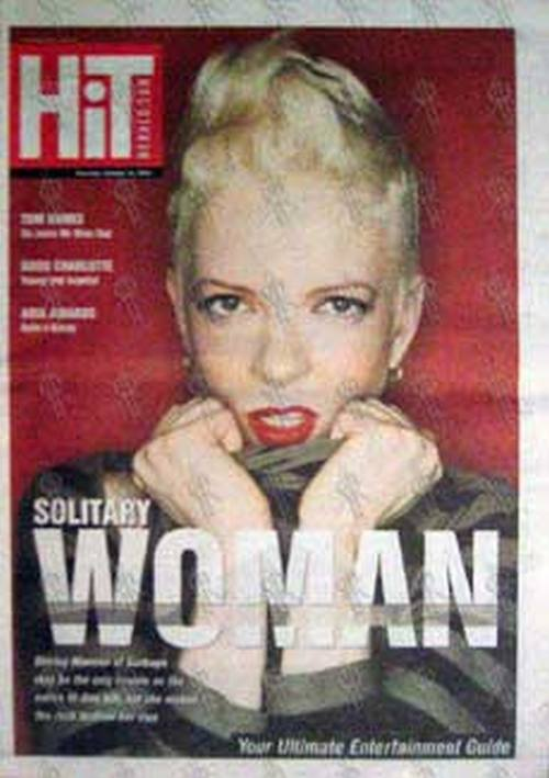 GARBAGE - 'Hit' - 'Herald Sun' Oct 10 2002 - Shirley On The Cover - 1