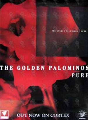 GOLDEN PALOMINOS-- THE - 'Pure' Album Poster - 1