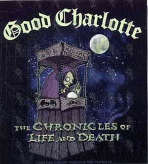 GOOD CHARLOTTE - 'The Chronicles Of Life And Death: Madame Predictable' Sticker - 1