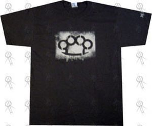 GOOD CHARLOTTE|MADE - Black 'Made' Knuckleduster Logo T-Shirt - 1