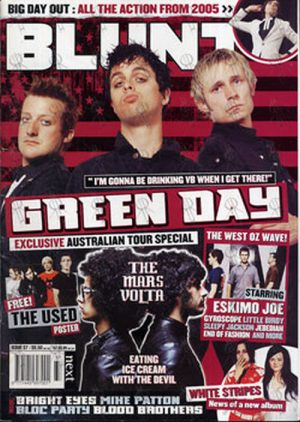 GREEN DAY - 'Blunt' - Issue #37 - Green Day On Cover - 1