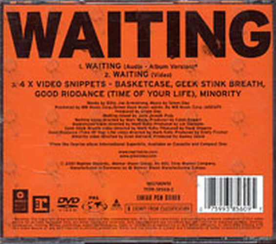 GREEN DAY - Waiting - 2